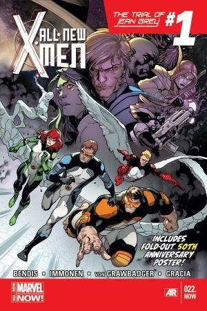 All-New X-Men (2012) #22 (Immonen X-Men 50th Anniversary Poster Variant)
