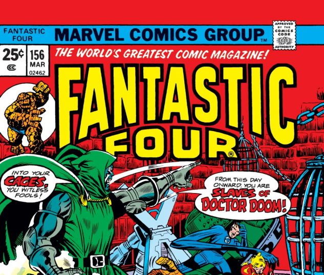 Fantastic Four (1961) #156 Cover