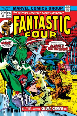 Fantastic Four (1961) #156