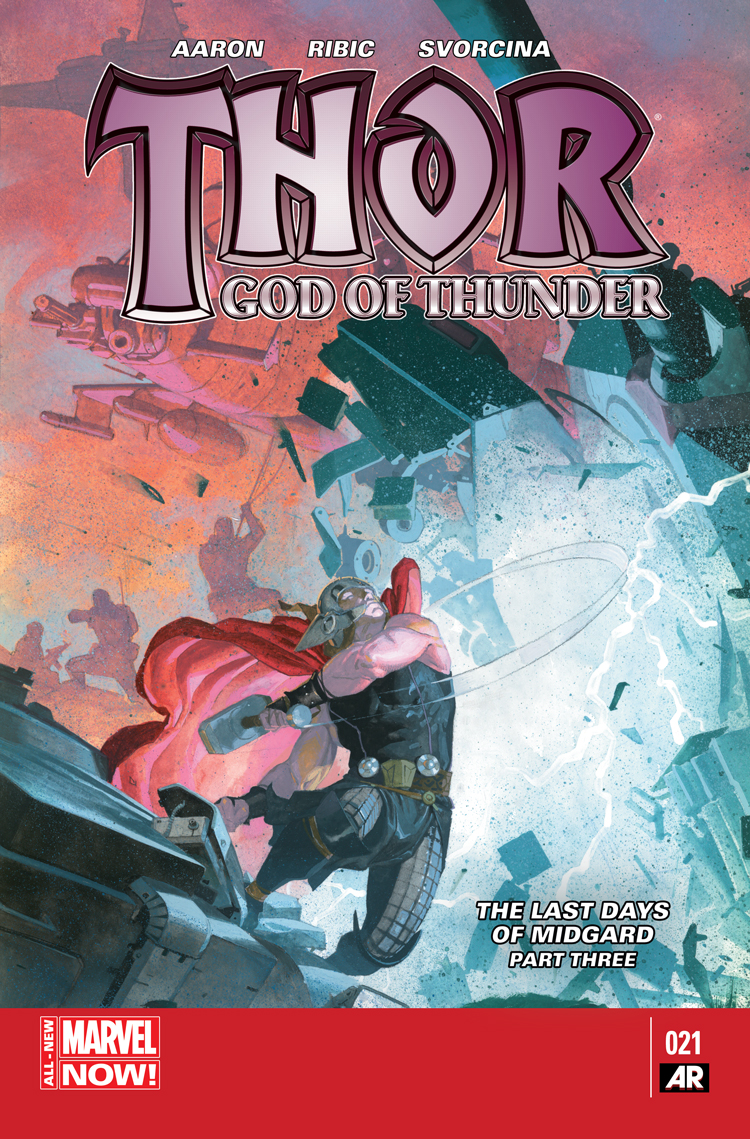 Thor: God of Thunder (2012) #21
