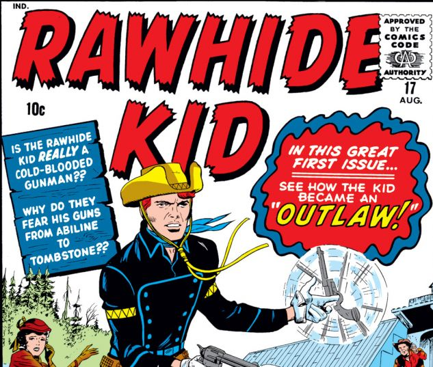 Rawhide Kid (1960) #17 Cover