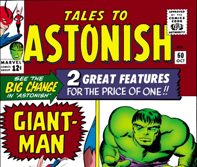 Tales to Astonish (1959) #60 Cover
