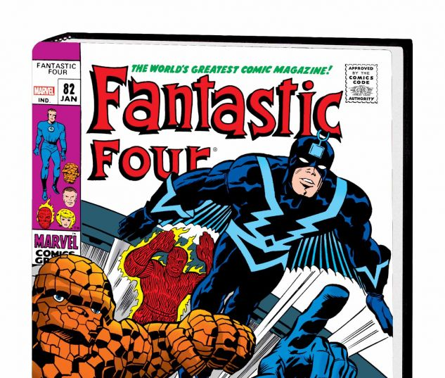 THE FANTASTIC FOUR OMNIBUS VOL. 3 HC KIRBY COVER (DM ONLY)
