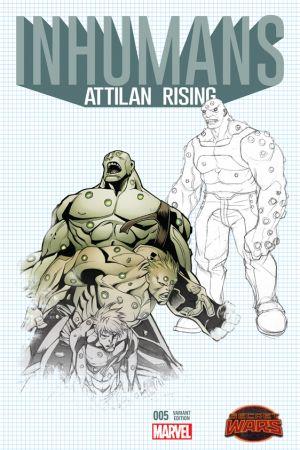 Inhumans: Attilan Rising #5  (Johnson Design Variant)