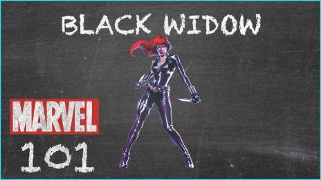 Black Widow - MARVEL 101