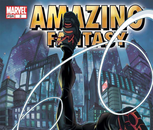 AMAZING FANTASY (2004) #2 Cover