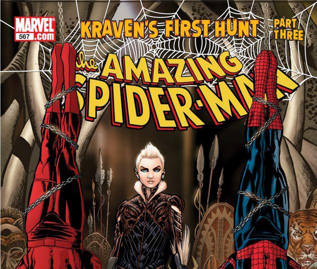 AMAZING SPIDER-MAN (1999) #567 Cover