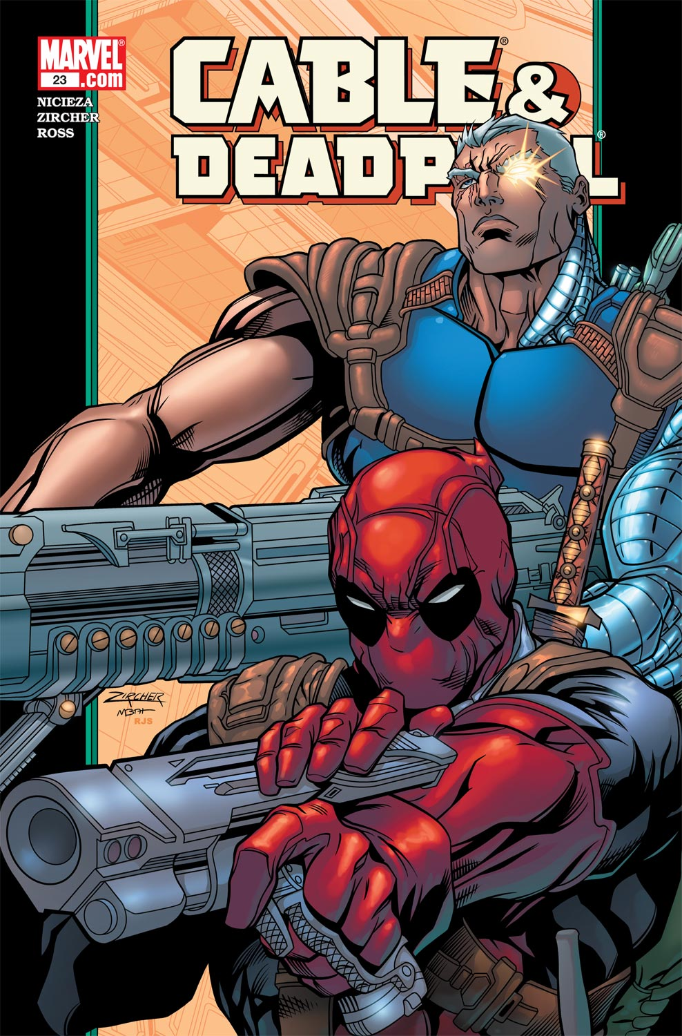 Cable & Deadpool (2004) #23