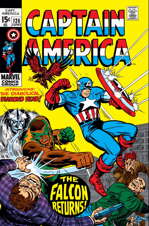 Captain America (1968) #126