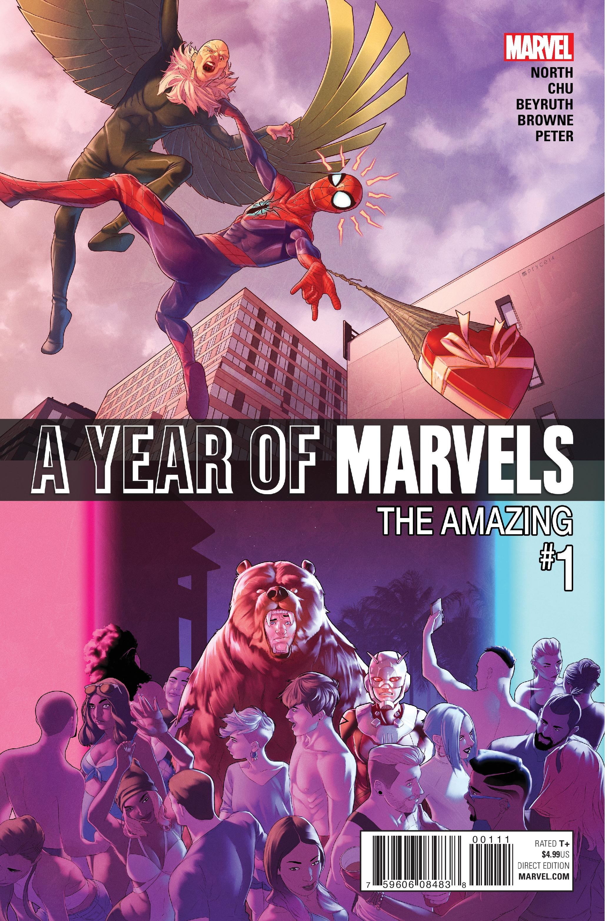 A Year of Marvels: The Amazing (2016) #1