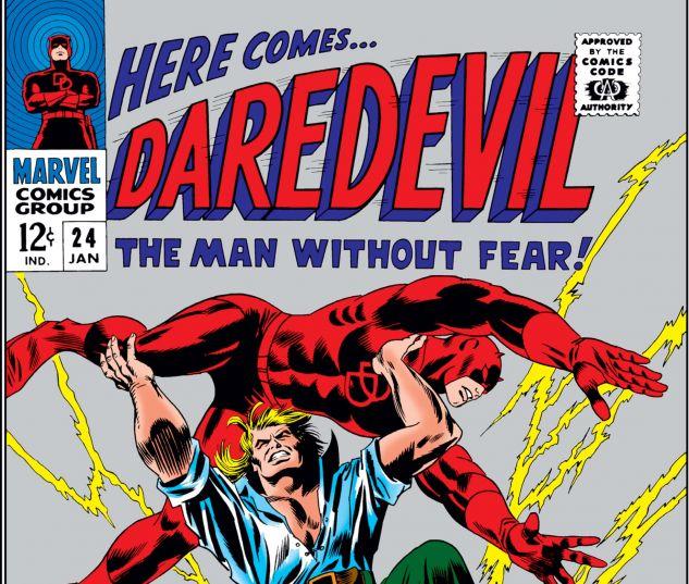DAREDEVIL (1964) #24 Cover