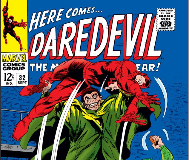 DAREDEVIL (1964) #32 Cover
