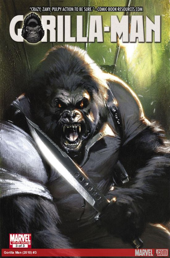 Gorilla Man (2010) #3