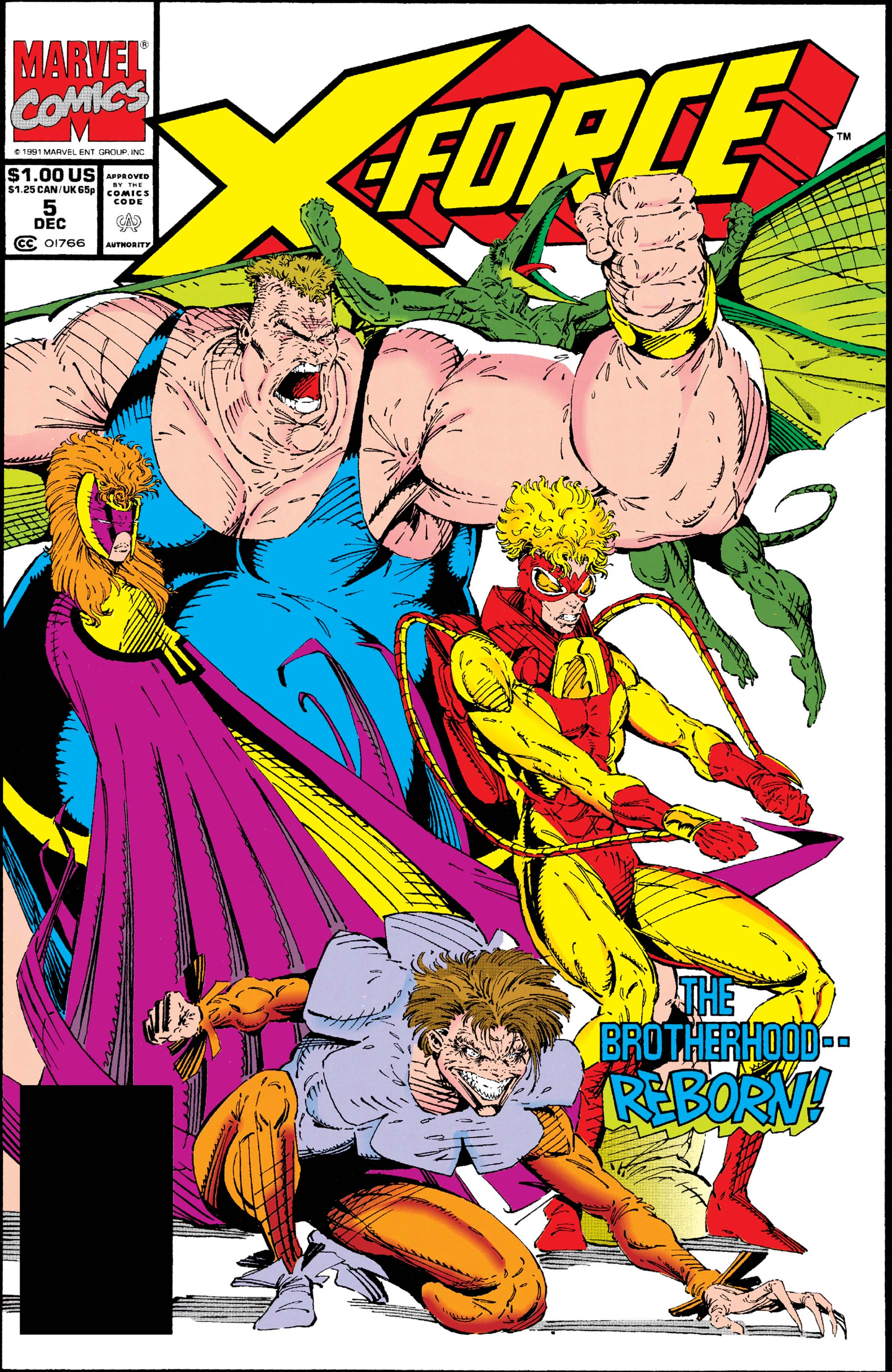 X-Force (1991) #5
