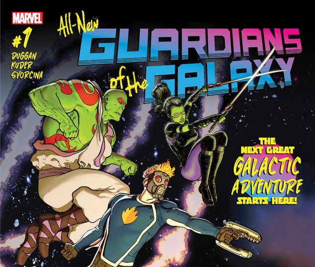 All-New Guardians of the Galaxy (2017) #1