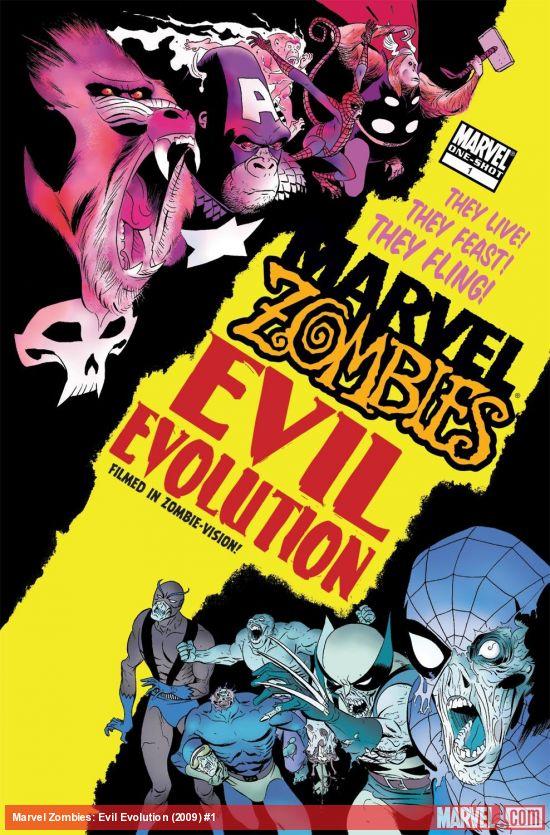 Marvel Zombies: Evil Evolution (2009) #1