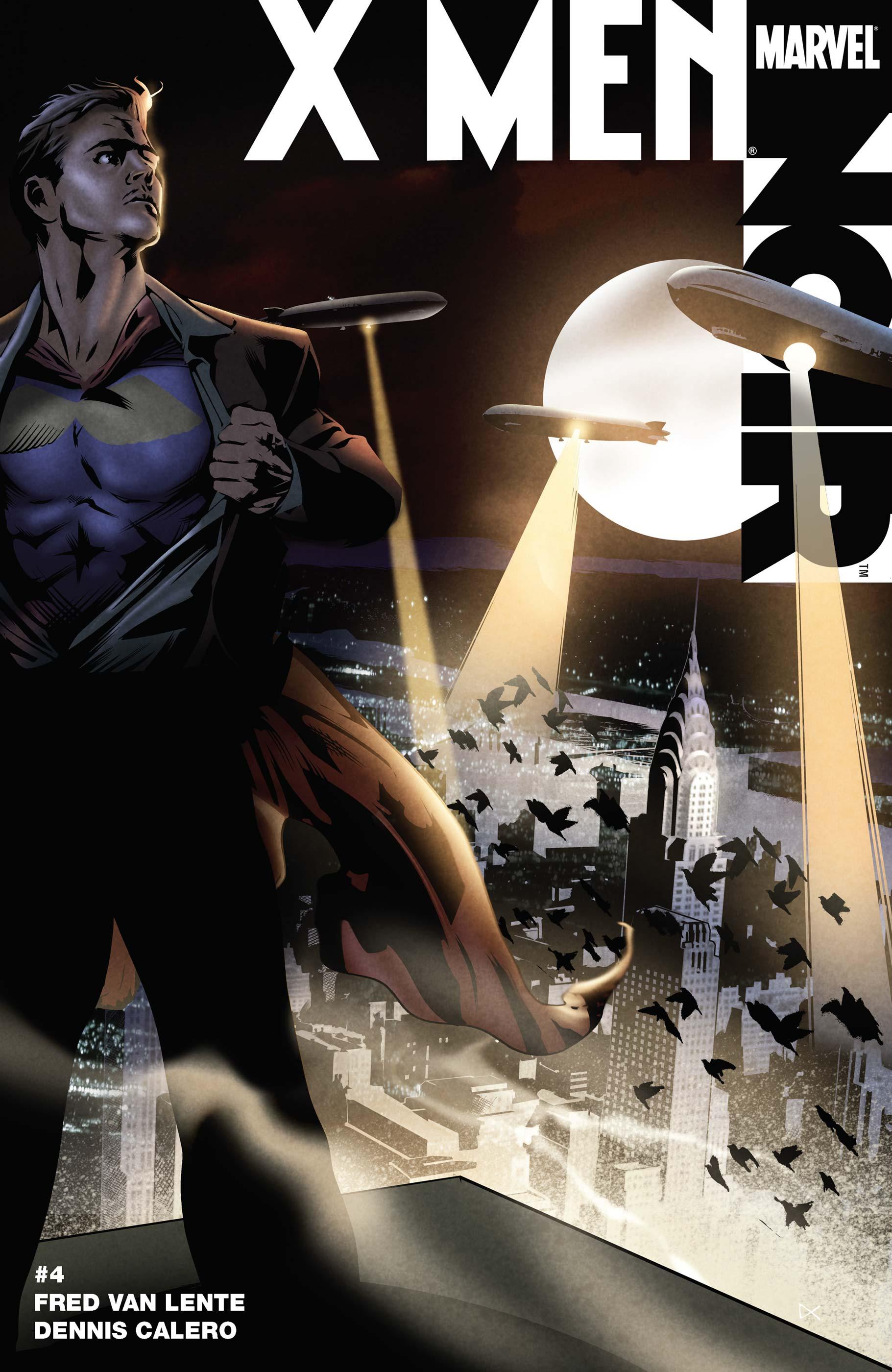 X Men Noir (2008) #4