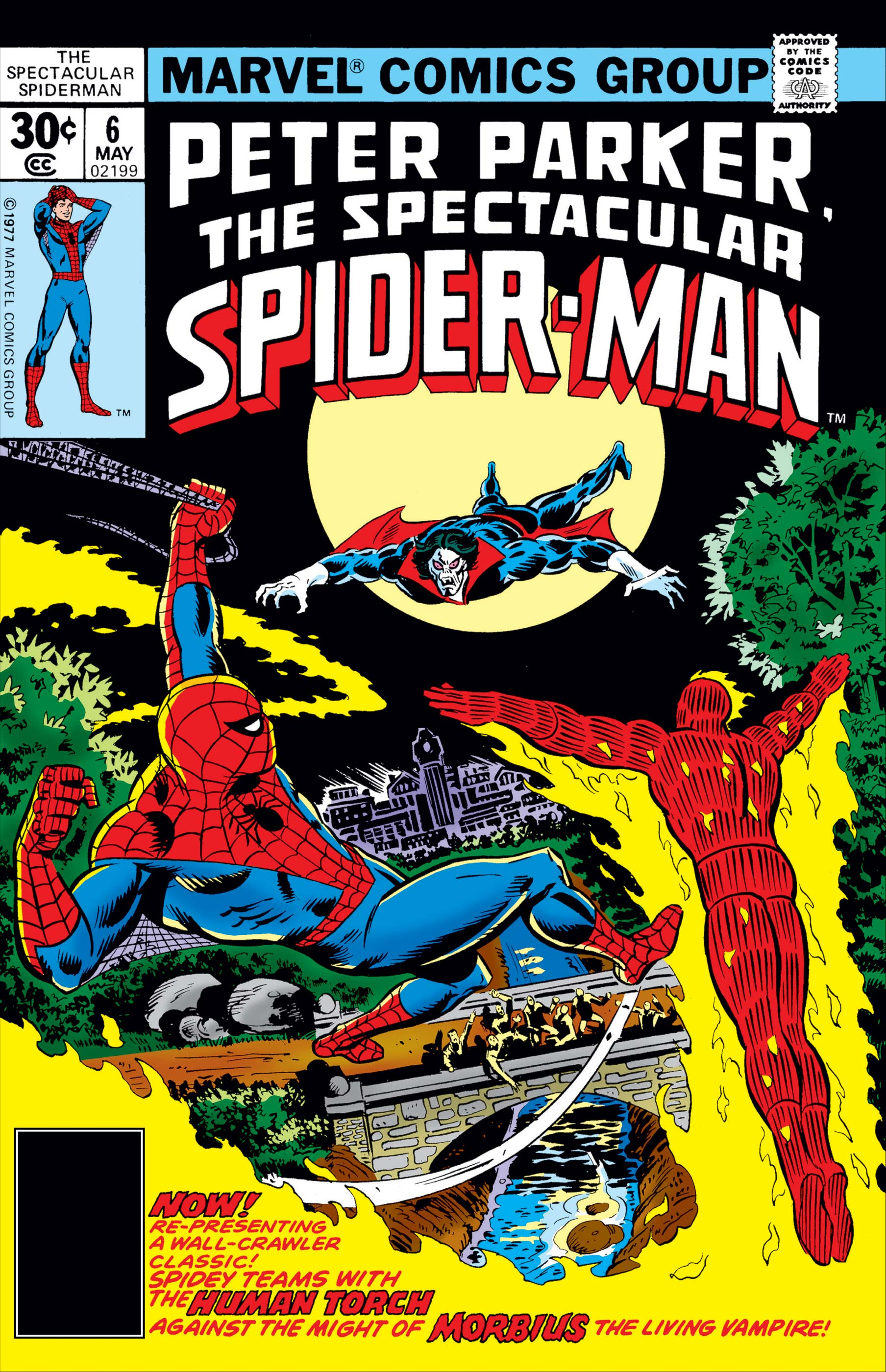 Peter Parker, the Spectacular Spider-Man (1976) #6