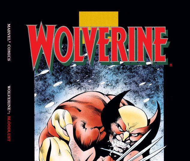 Cover for WOLVERINE: BLOODLUST