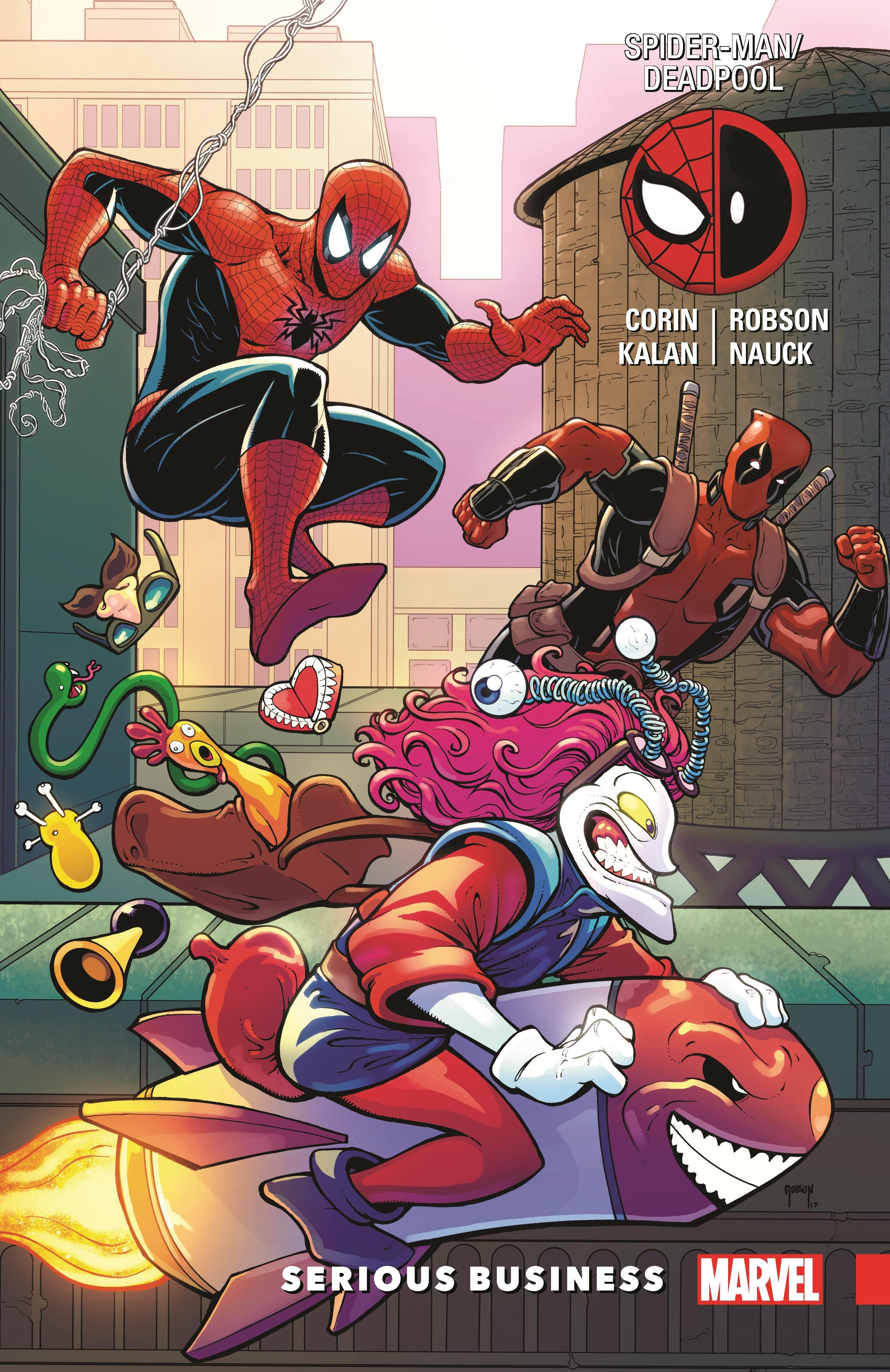 Spider-Man/Deadpool Vol. 4: Serious Business (Trade Paperback)