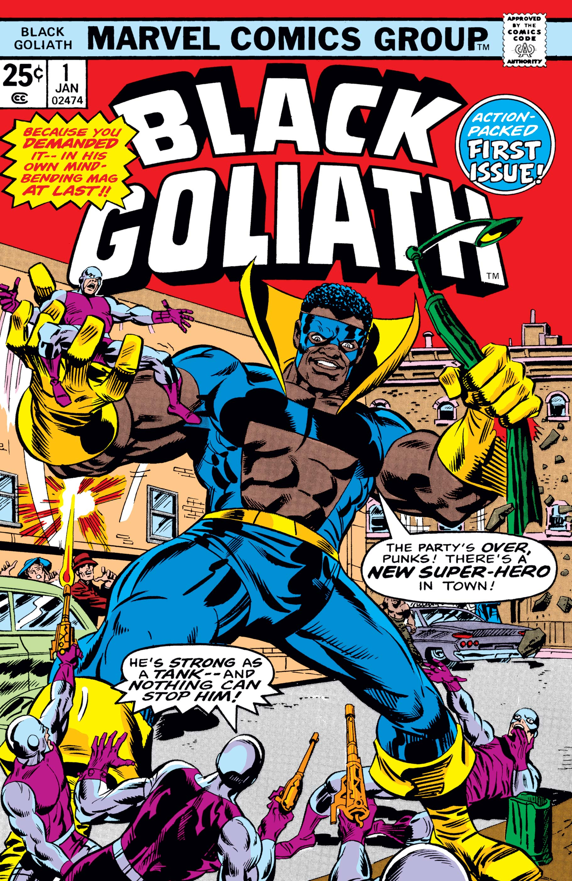 Black Goliath (1976) #1