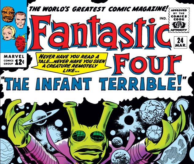 FANTASTIC FOUR (1961) #24