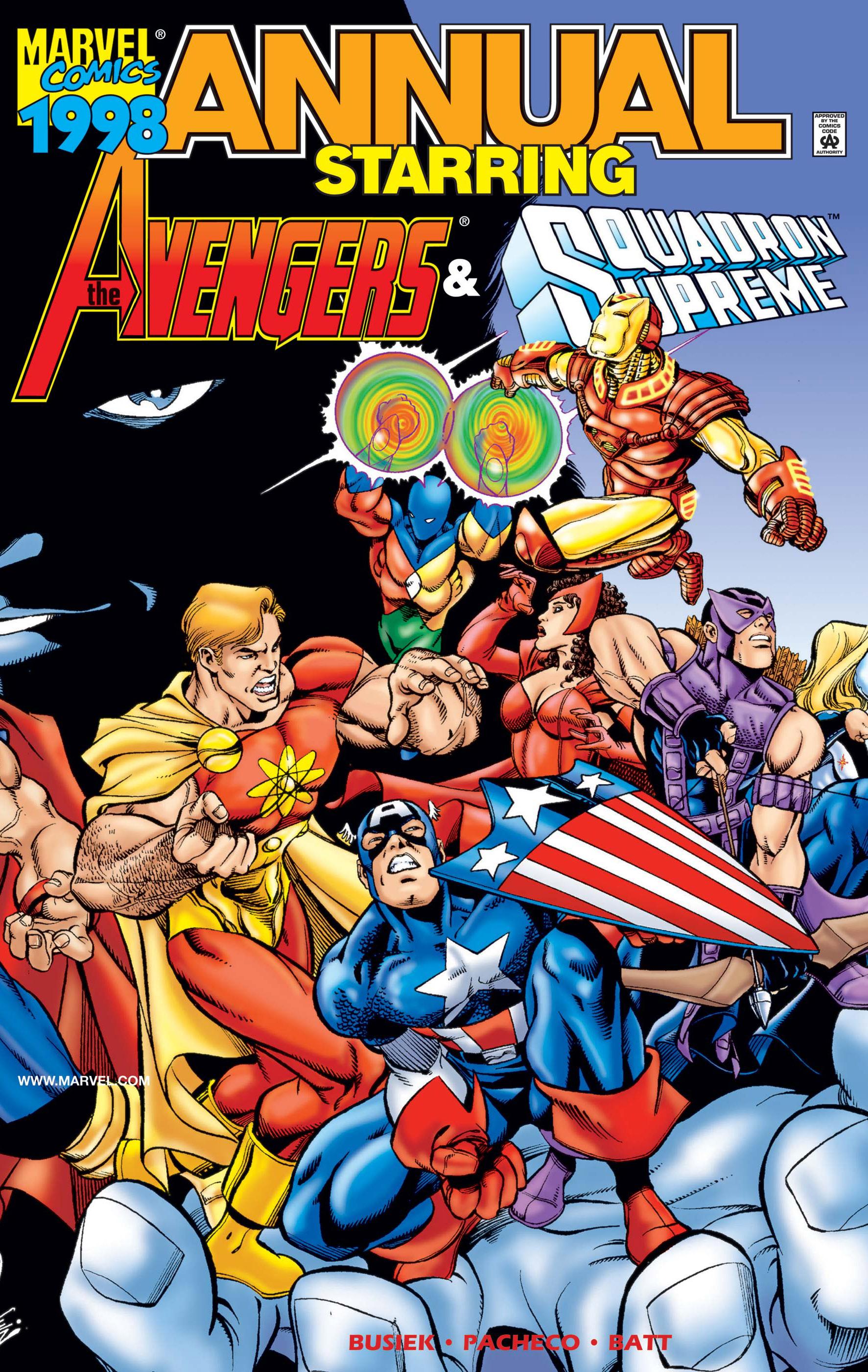 Avengers/Squadron Supreme Annual (1998) #1