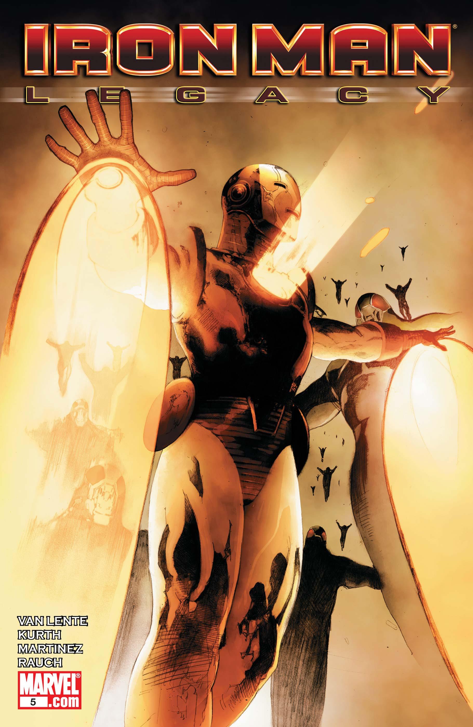 Iron Man Legacy (2010) #5