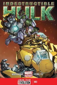 Indestructible Hulk (2012) #3 cover