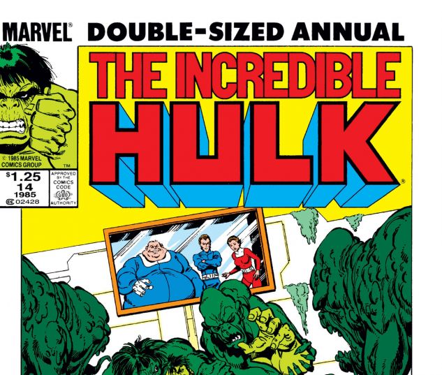 INCREDIBLE HULK ANNUAL (1968) #14