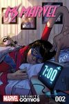 cover from Ms. Marvel Vol. 2 Kids Infinite Comic (2018) #2