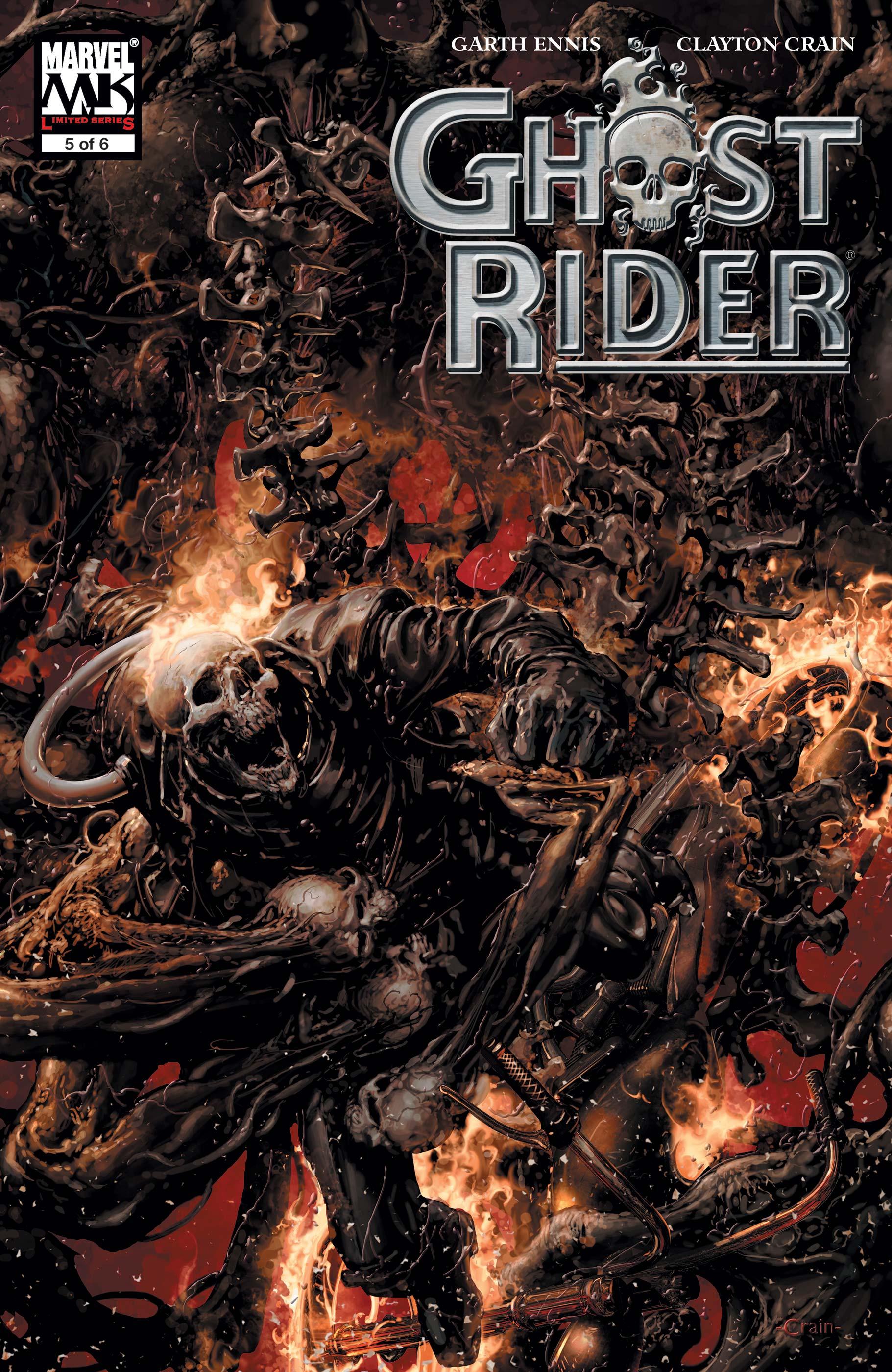 Ghost Rider (2005) #5