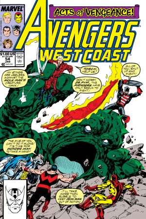 West Coast Avengers #54