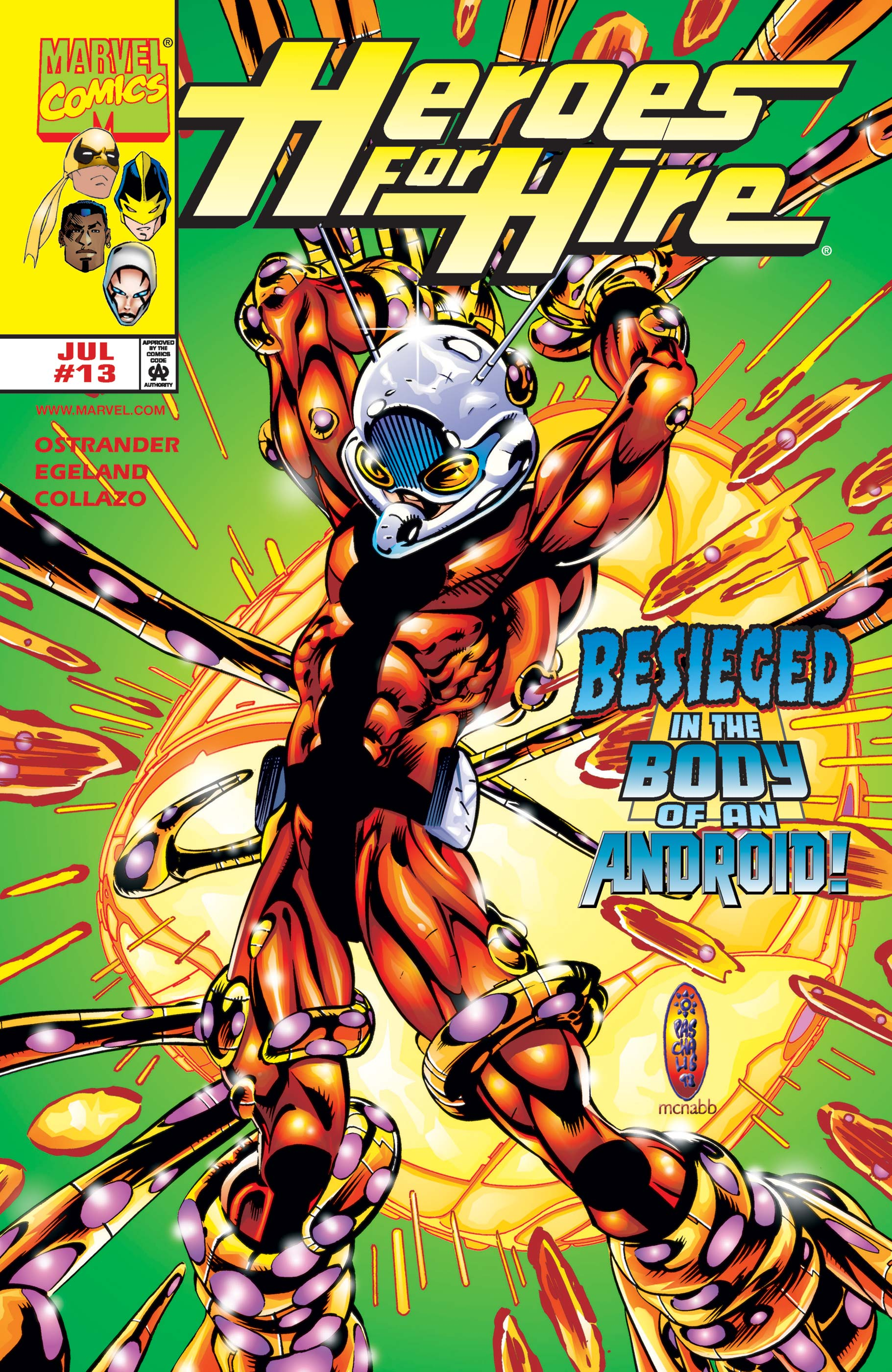 Heroes for Hire (1997) #13