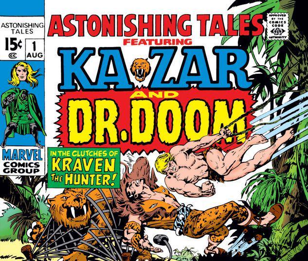 Astonishing Tales #1