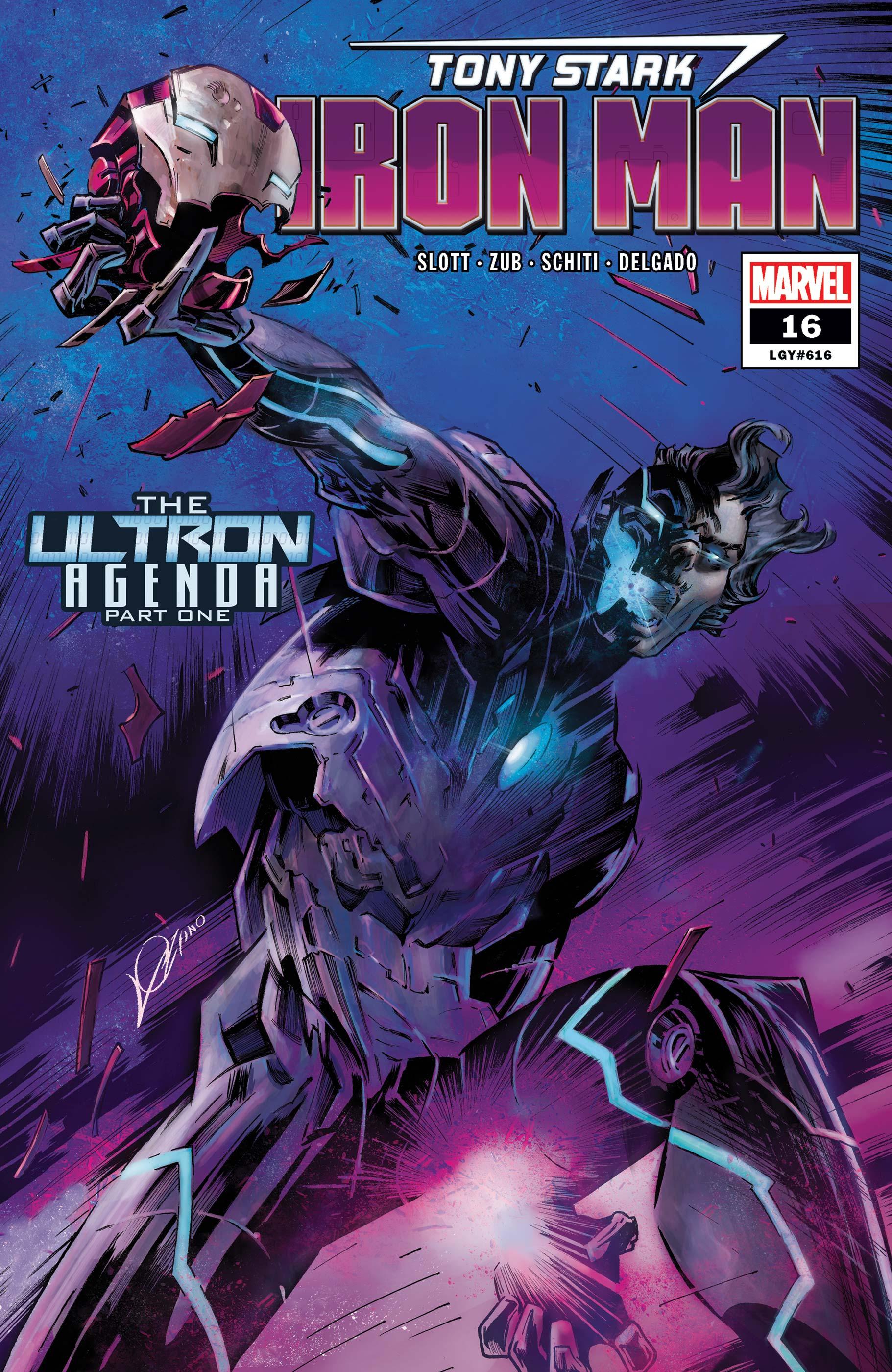 Tony Stark: Iron Man (2018) #16