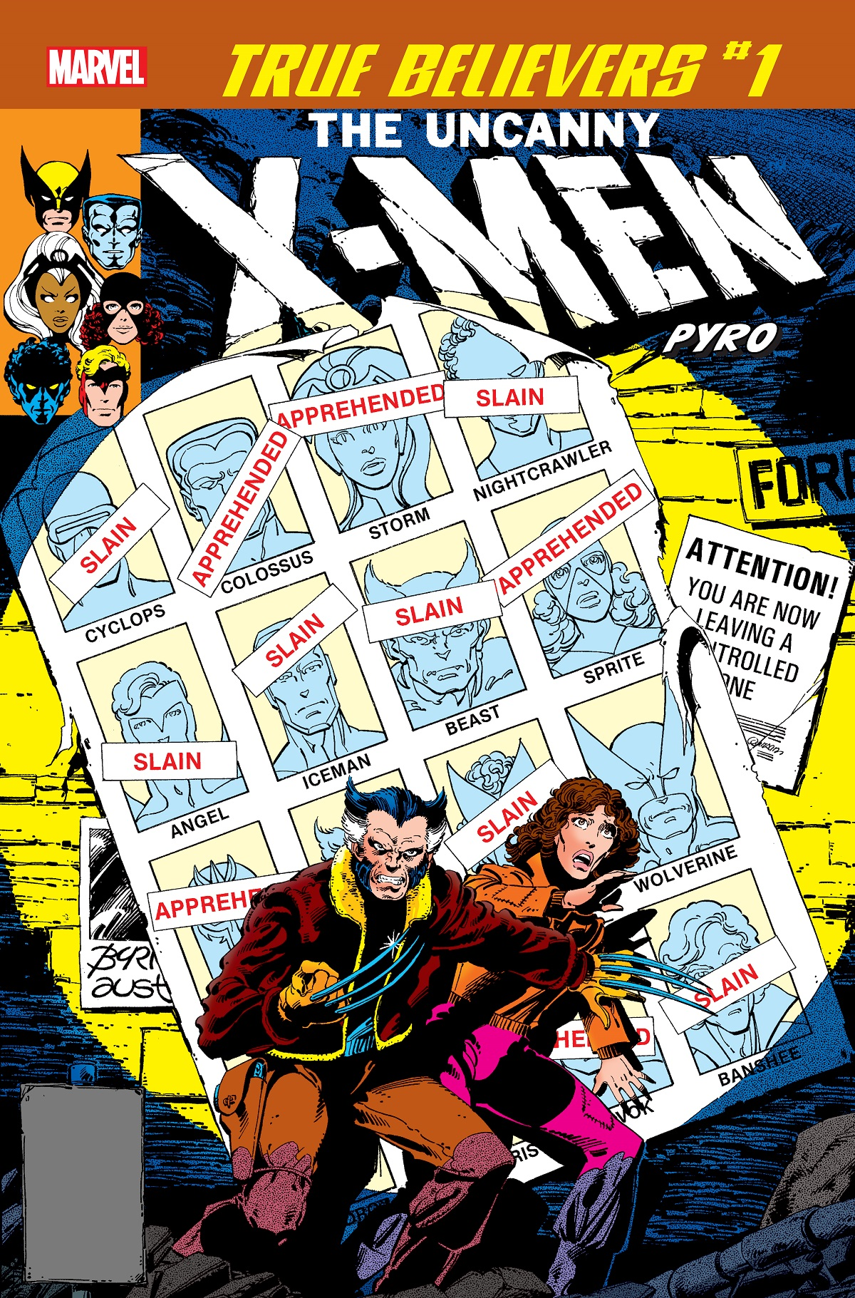 True Believers: X-Men - Pyro (2019) #1