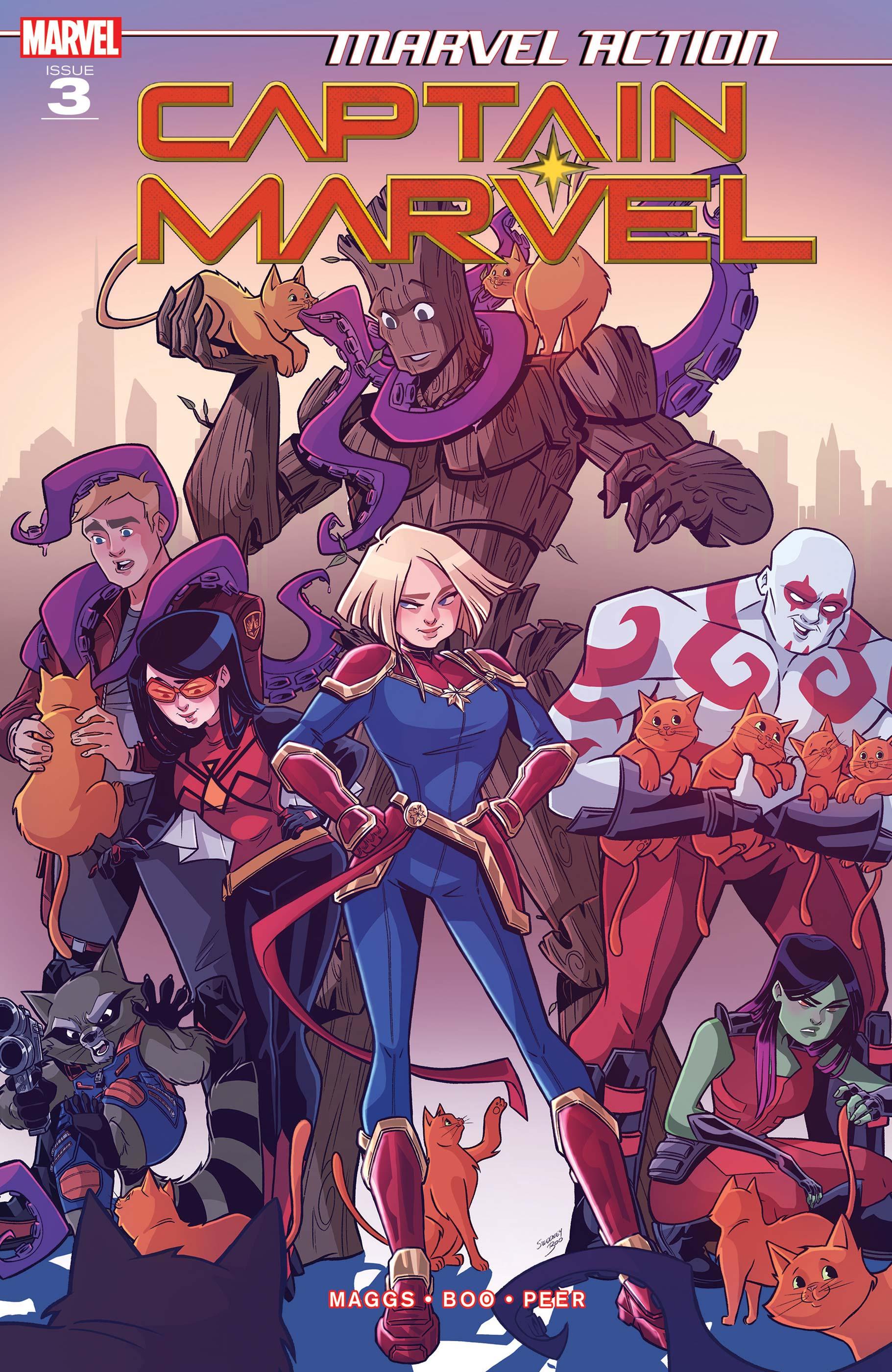 Marvel Action Captain Marvel (2019) #3