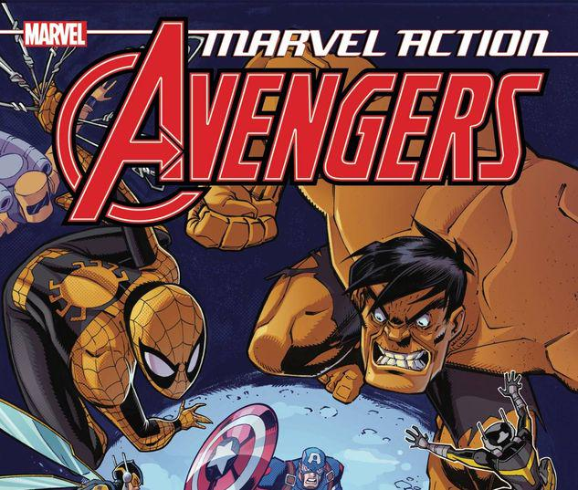 MARVEL ACTION AVENGERS BOOK 4: THE LIVING NIGHTMARE #4