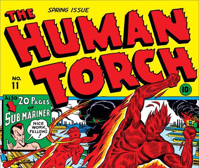 Human Torch Comics #11