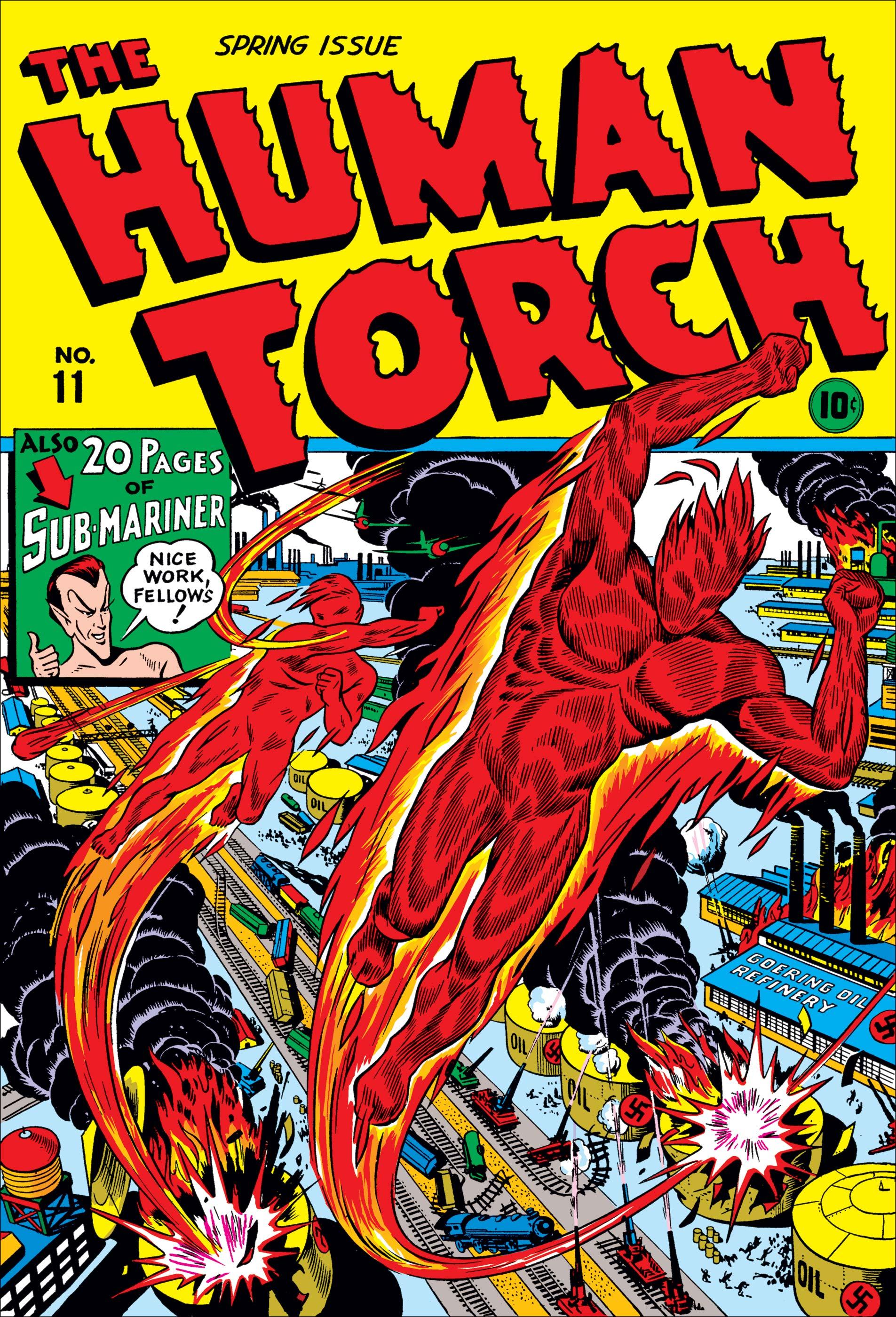 Human Torch Comics (1940) #11