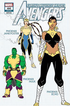 Avengers #44  (Variant)