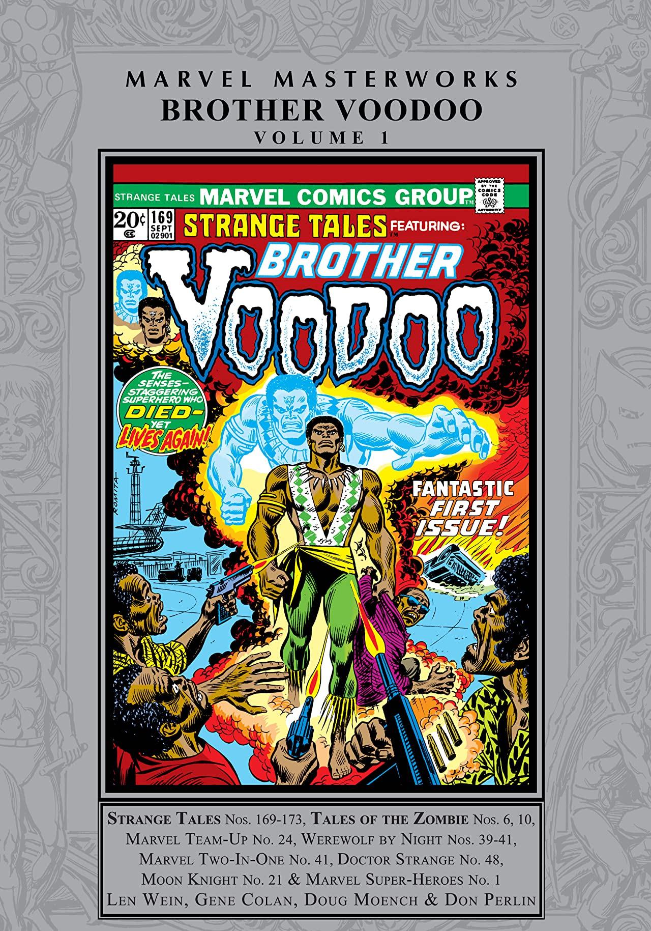 Marvel Masterworks: Brother Voodoo Vol. 1 (Hardcover)
