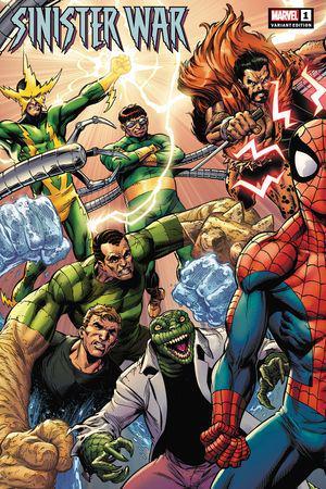 Sinister War (2021) #1 (Variant)