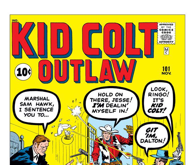 Kid Colt: Outlaw #101