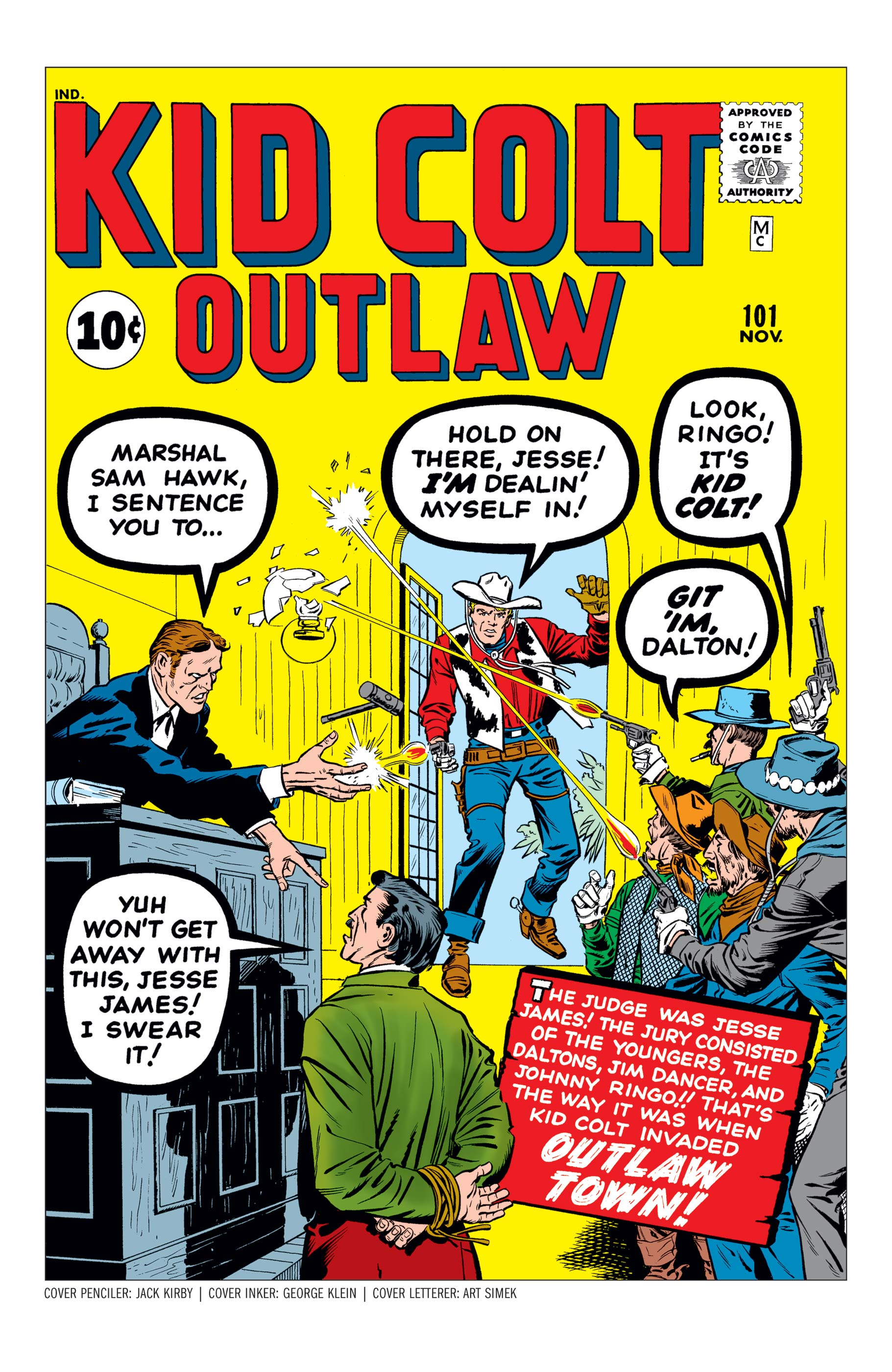 Kid Colt: Outlaw (1949) #101