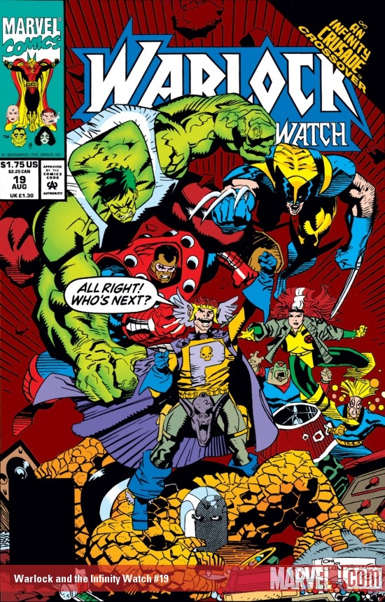 Warlock and the Infinity Watch (1992) #19