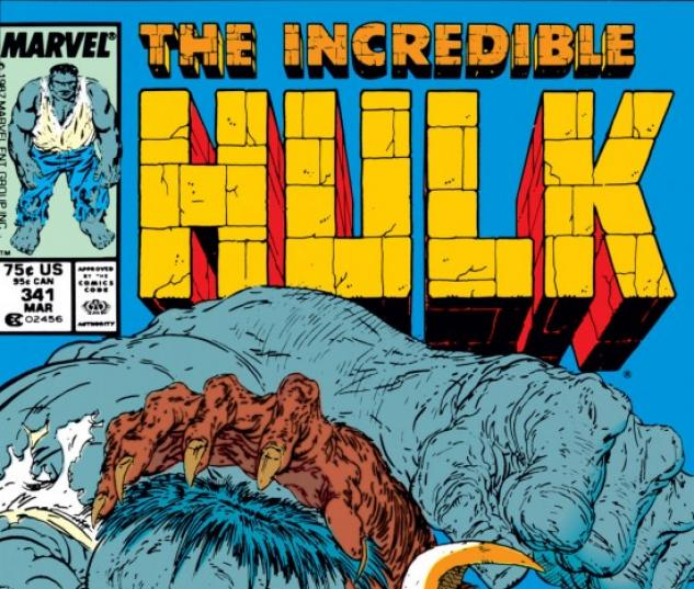 INCREDIBLE HULK (2009) #341 COVER