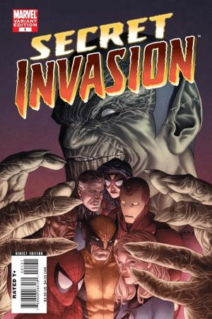Secret Invasion (2008) #1 (MCNIVEN VARIANT)