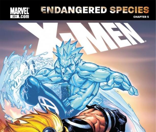 X-MEN: ENDANGERED SPECIES BACK-UP STORY #5